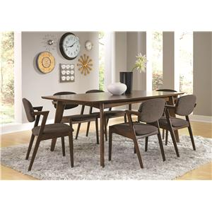 Coaster Malone 7 Piece Dining Set