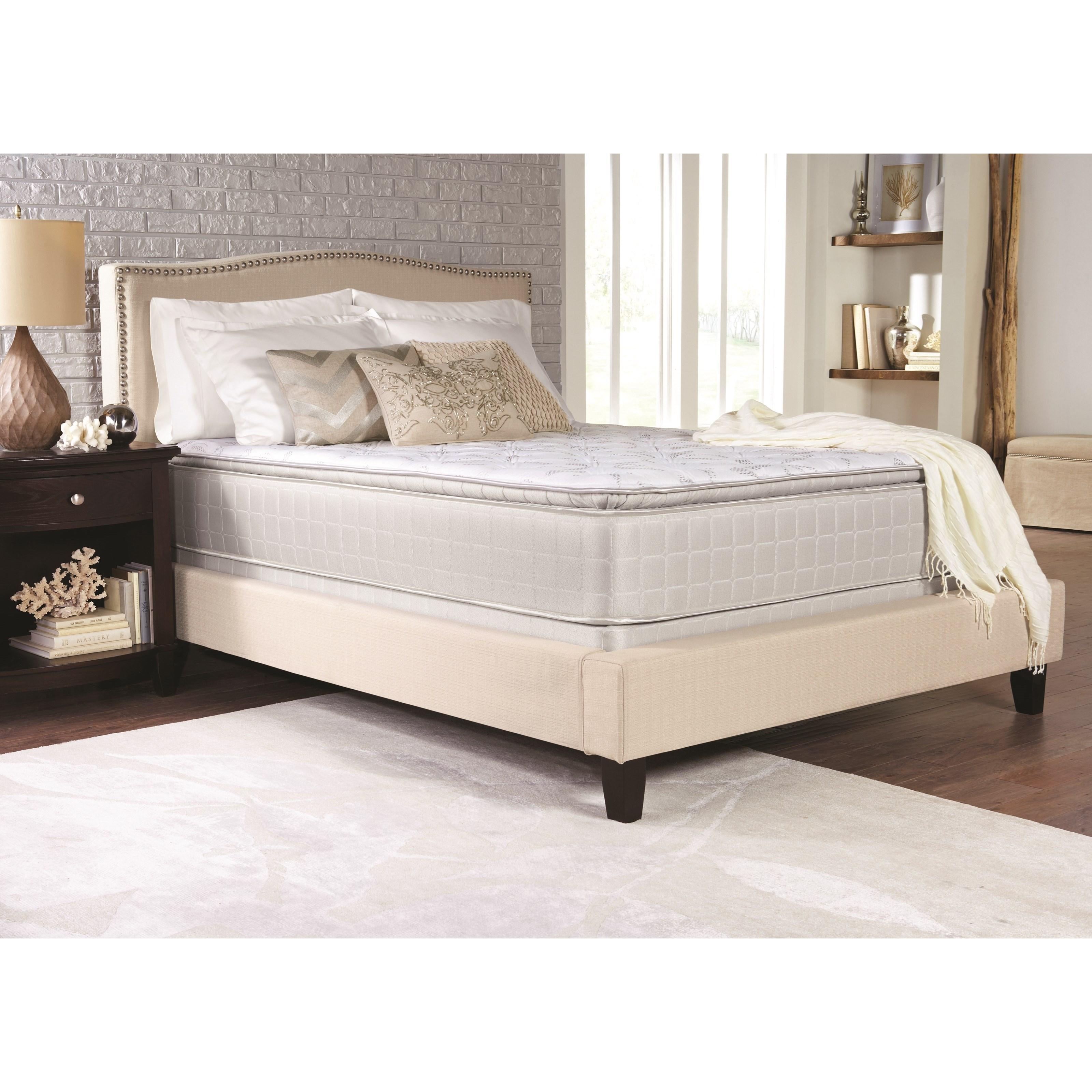 "Coaster Marbella II Pillow Top King 13"" Pillow Top Mattress - Item Number: 350055KE"