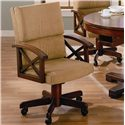 Coaster Marietta Upholstered Arm Game Chair - 100172