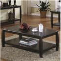 Coaster Marina Coffee Table with 1 Shelf - 701078