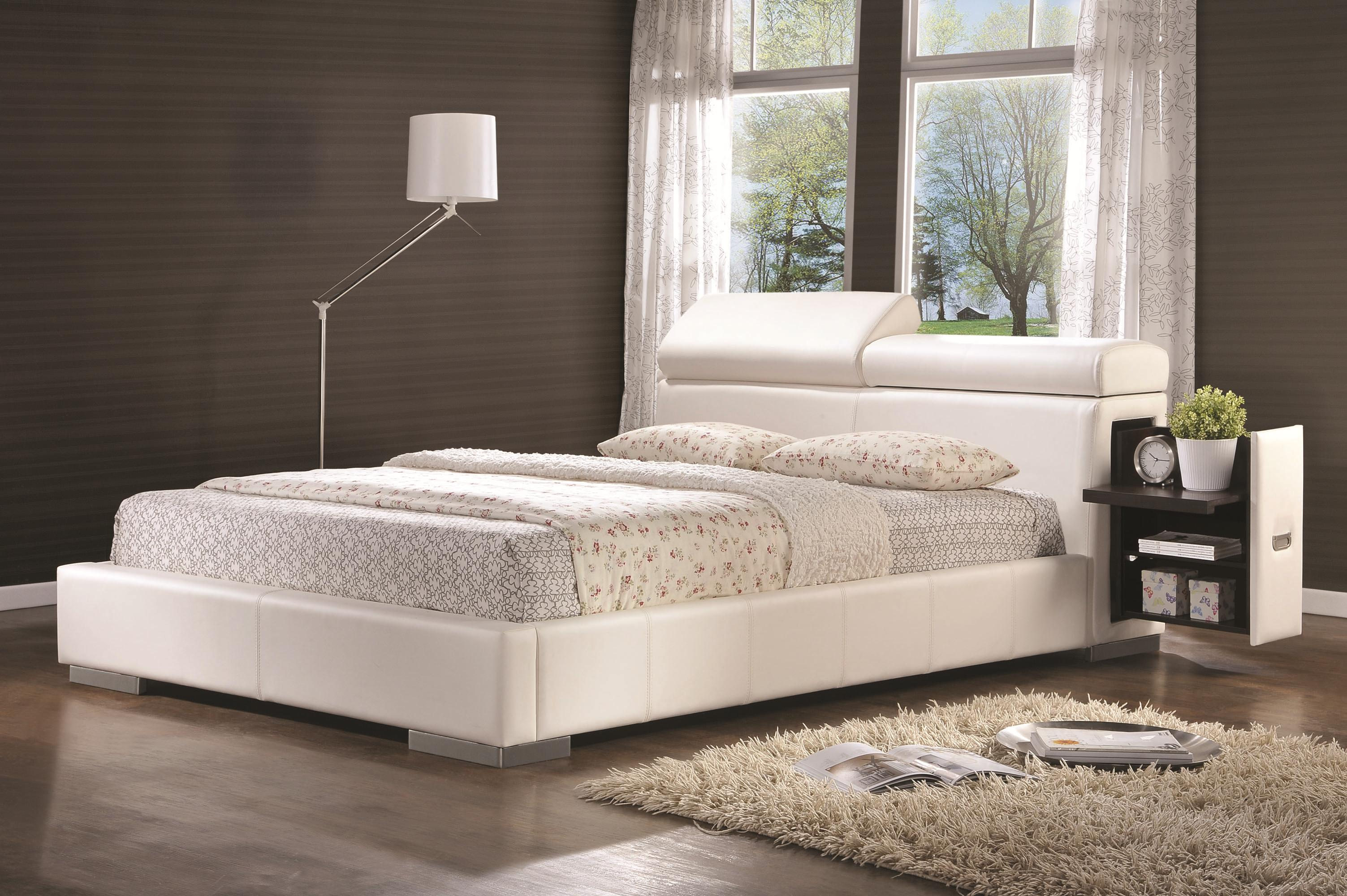 coaster maxine king bed item number 300379ke - Coaster Bed Frame