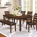 Coaster Maxwell Transitional Dining Table - Item Number: 107031