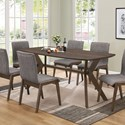 (Up to 50% OFF sale price) Collection # 2 McBride Dining Table - Item Number: 107191