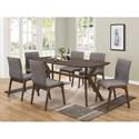 Coaster McBride Retro Dining Room Table