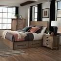 Coaster Meester Queen Bed - Item Number: 215590Q