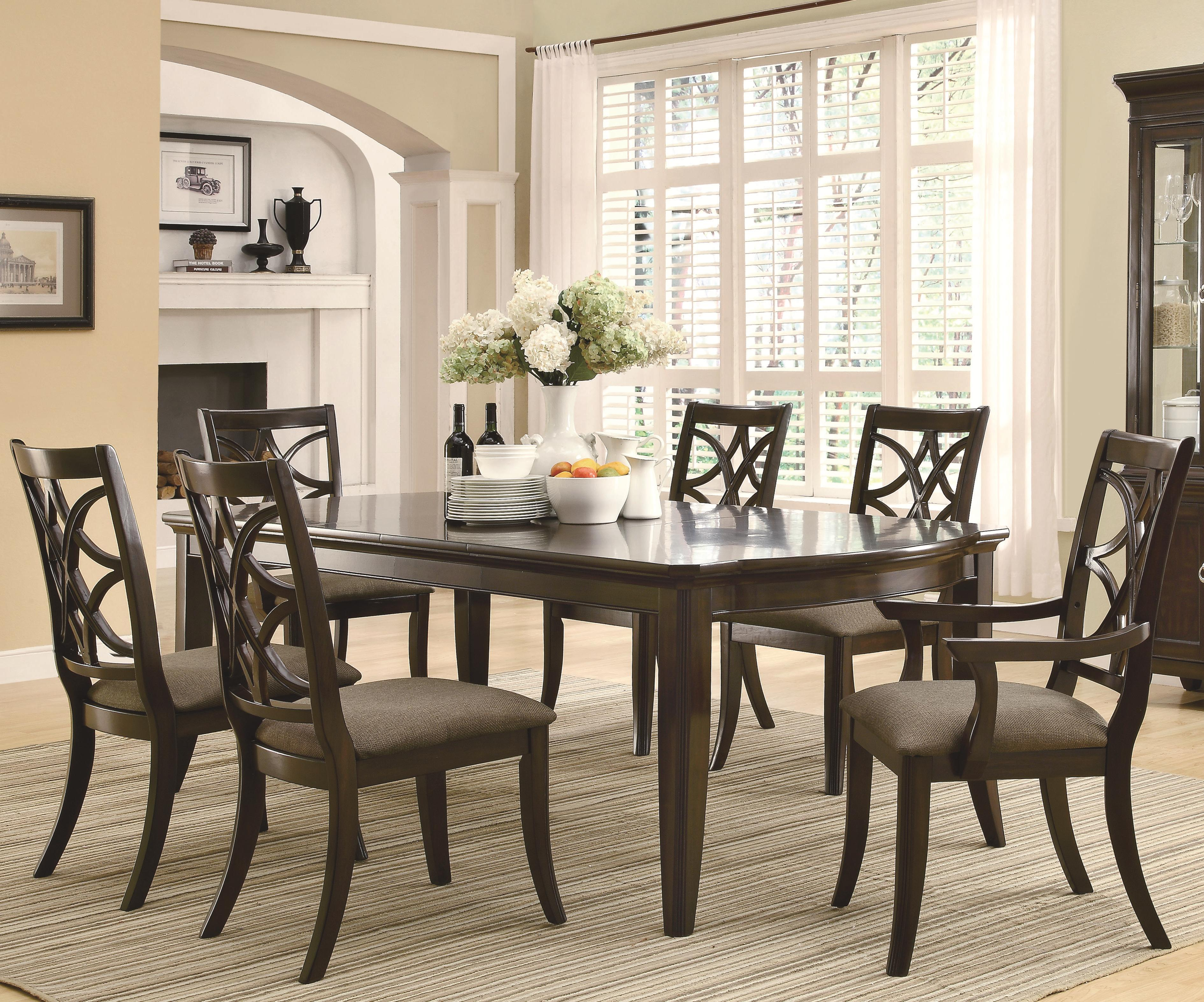 Coaster Meredith 7 Piece Dining Set - Item Number: 103531+2x33+4x32