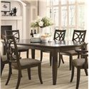Coaster Meredith Dining Leg Table w/ Leaf Extensions - 103531