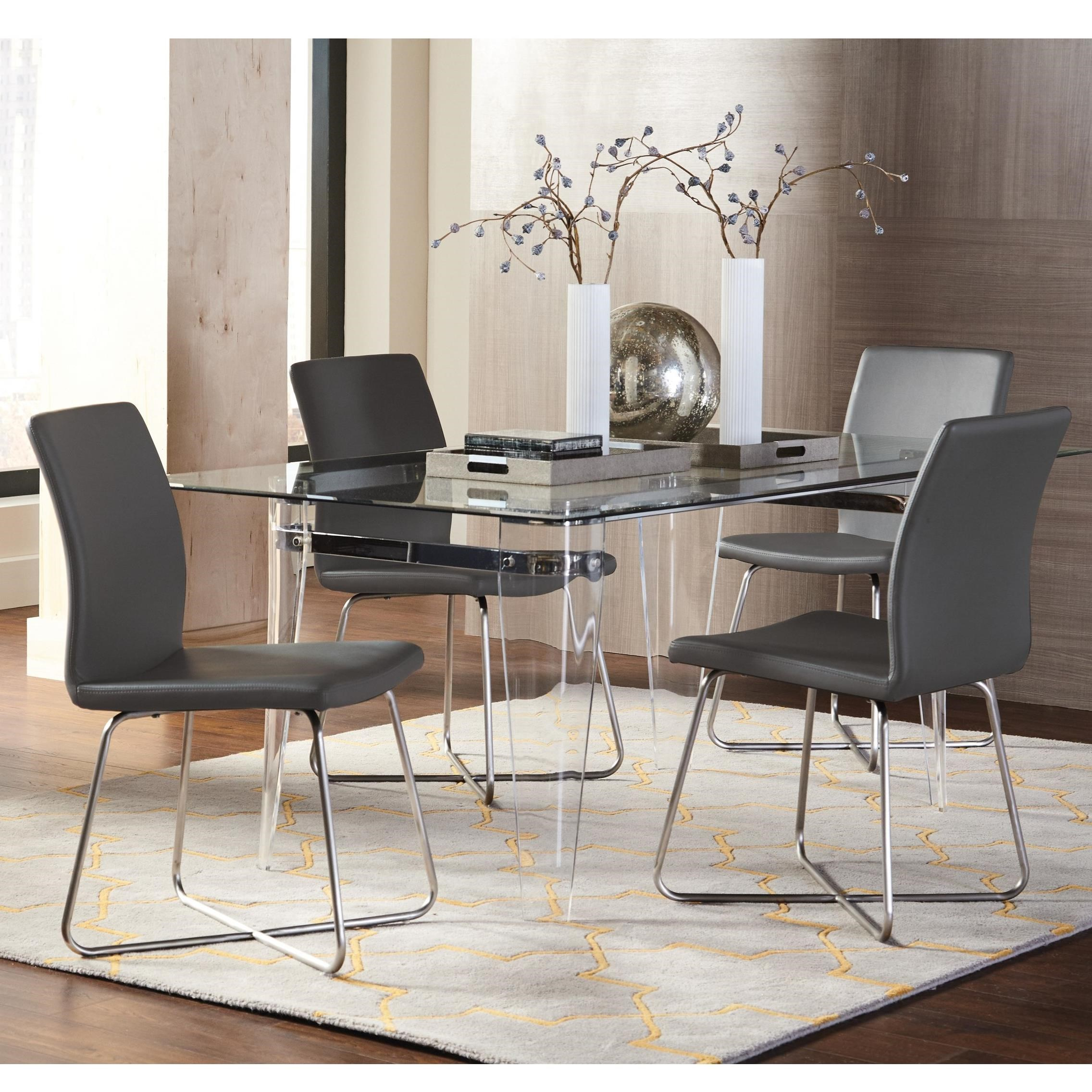 Coaster Michonne Table And Chair Set Northeast Factory Direct Dining 5 Piece Sets Cleveland