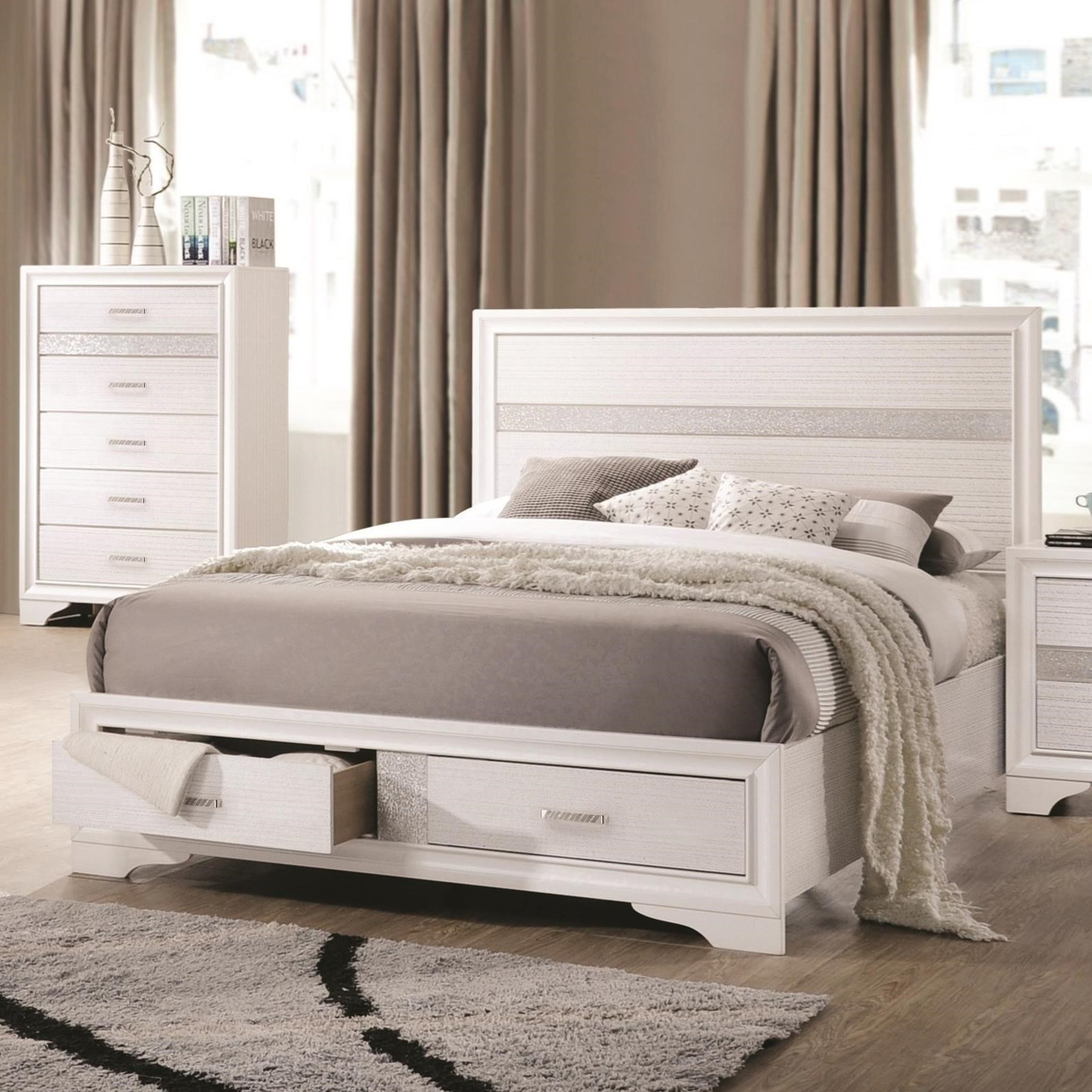 upholstered coaster headboard storage bed city queen info with slowak king beds value