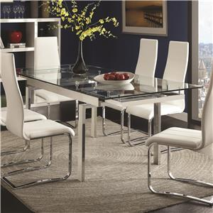 Coaster Modern Dining Dining Table