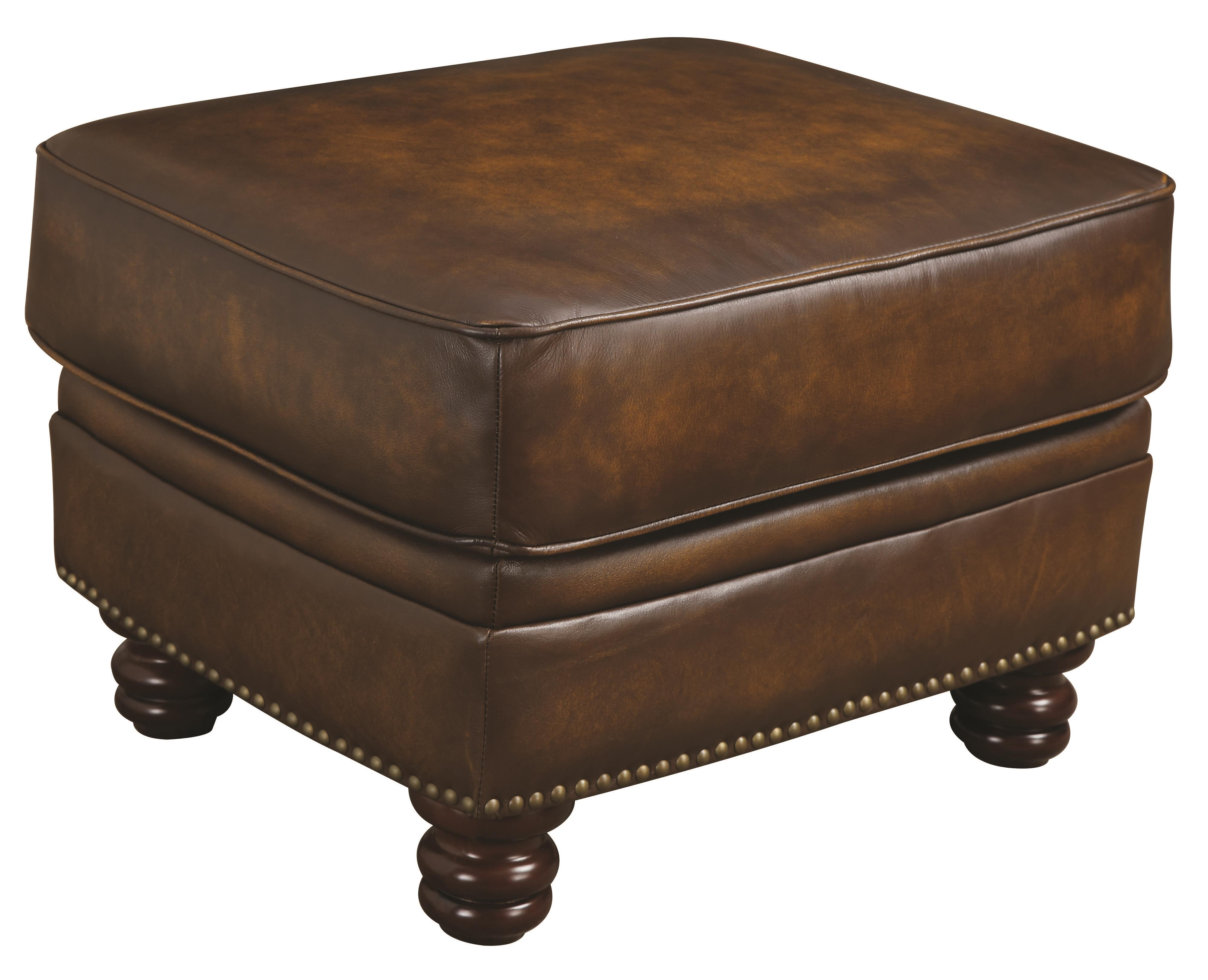 Coaster Montbrook Ottoman - Item Number: 503984 Hand Rubbed Brown