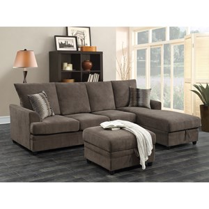 Coaster Moxie Sectional Sofa