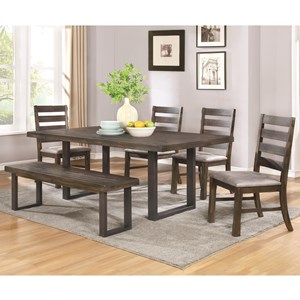 Coaster Murphy Dining Set with Bench