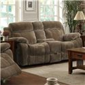 Coaster Myleene Double Gliding Loveseat  w/ Cup Holders - 603032