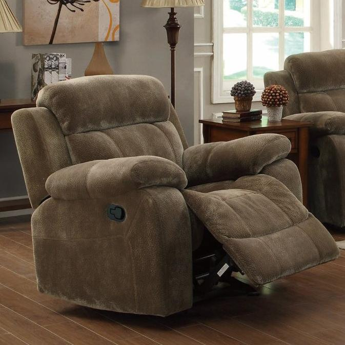Coaster Myleene Glider Recliner - Item Number: 603033