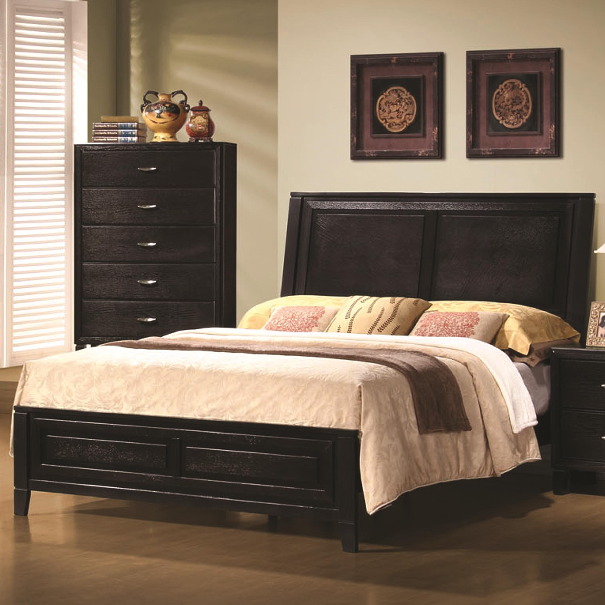 Coaster Nacey Queen Contemporary Headboard and Footboard Bed