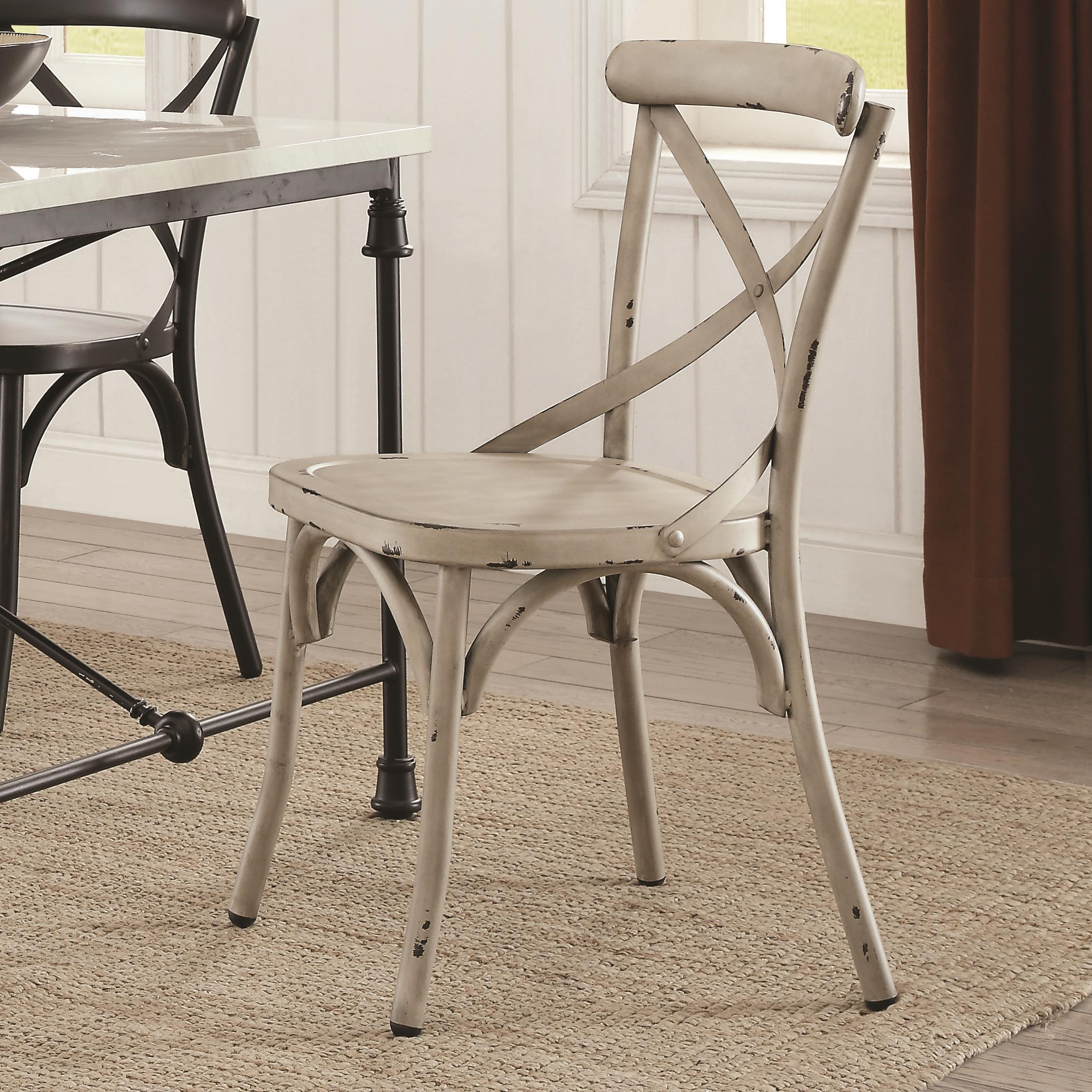 Coaster Nagel Dining Chair White - Item Number: 105315