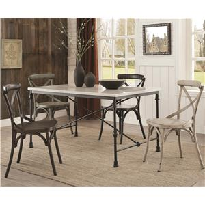Coaster Nagel 5 Pc Dining Set