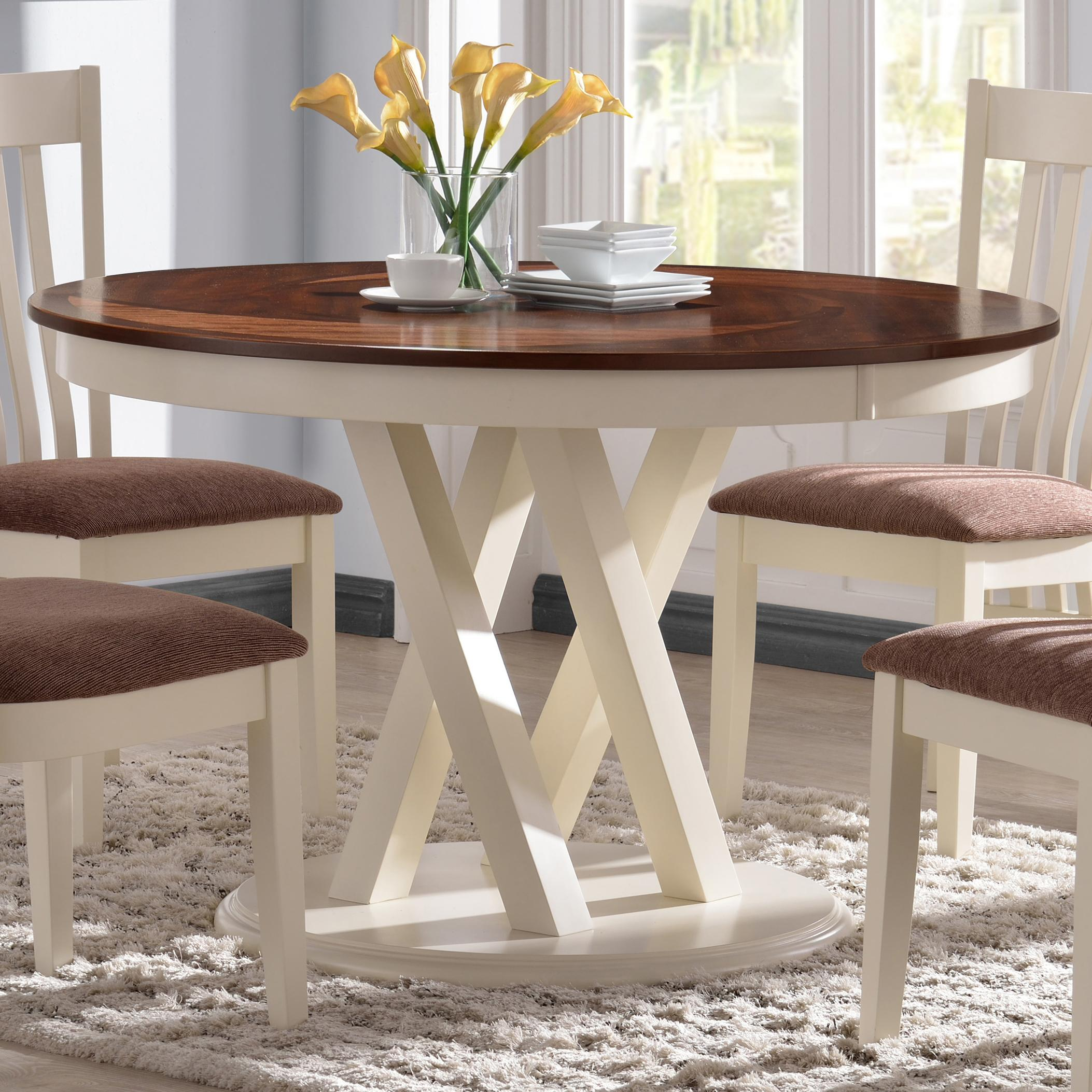 Matteo Kitchens: Fine Furniture Naomi 10434 104341 Round Kitchen Table With
