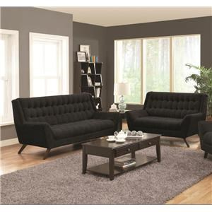 Coaster Natalia Sofa & Love seat