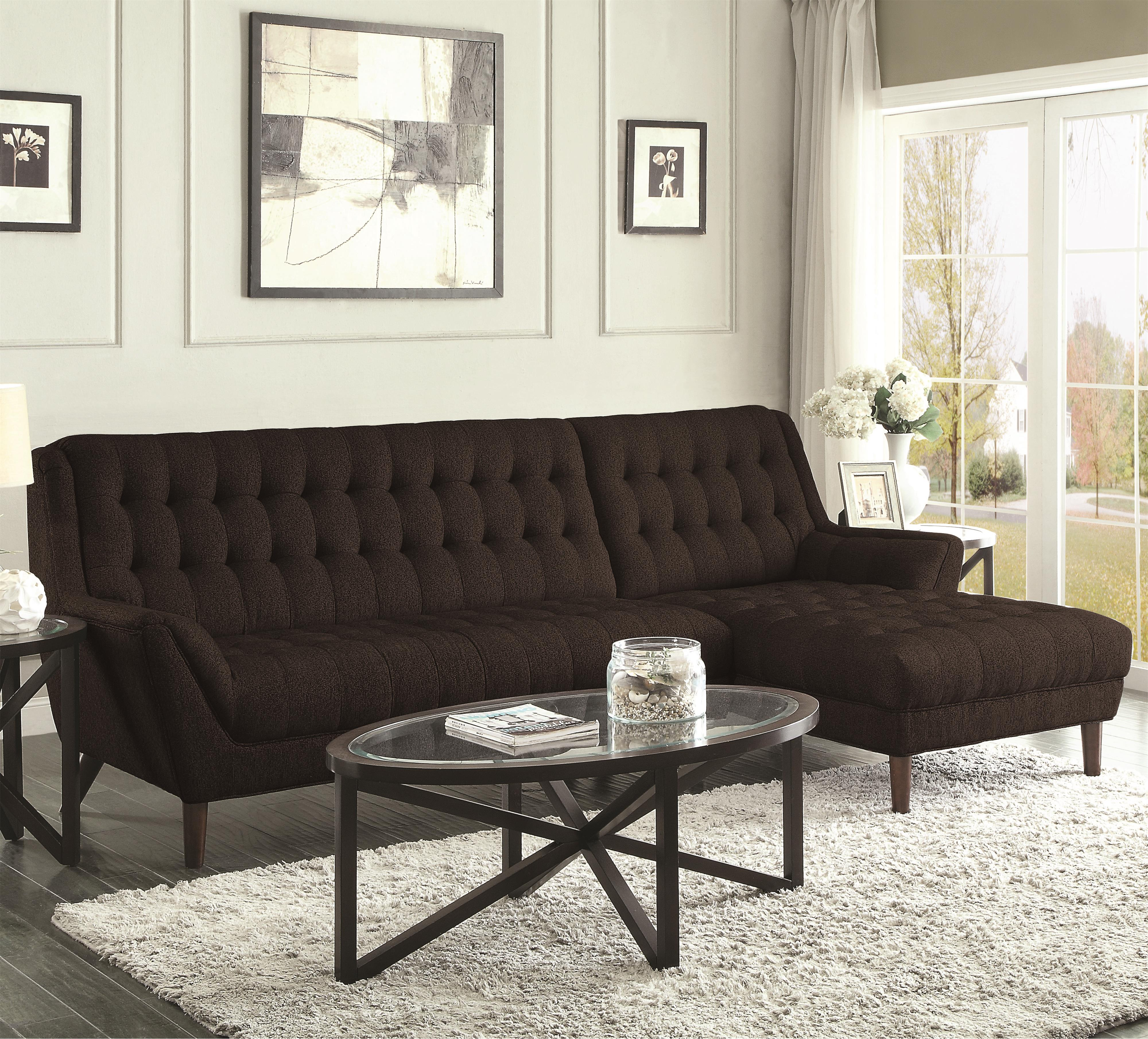 Coaster Natalia Sectional Sofa - Item Number: 503778