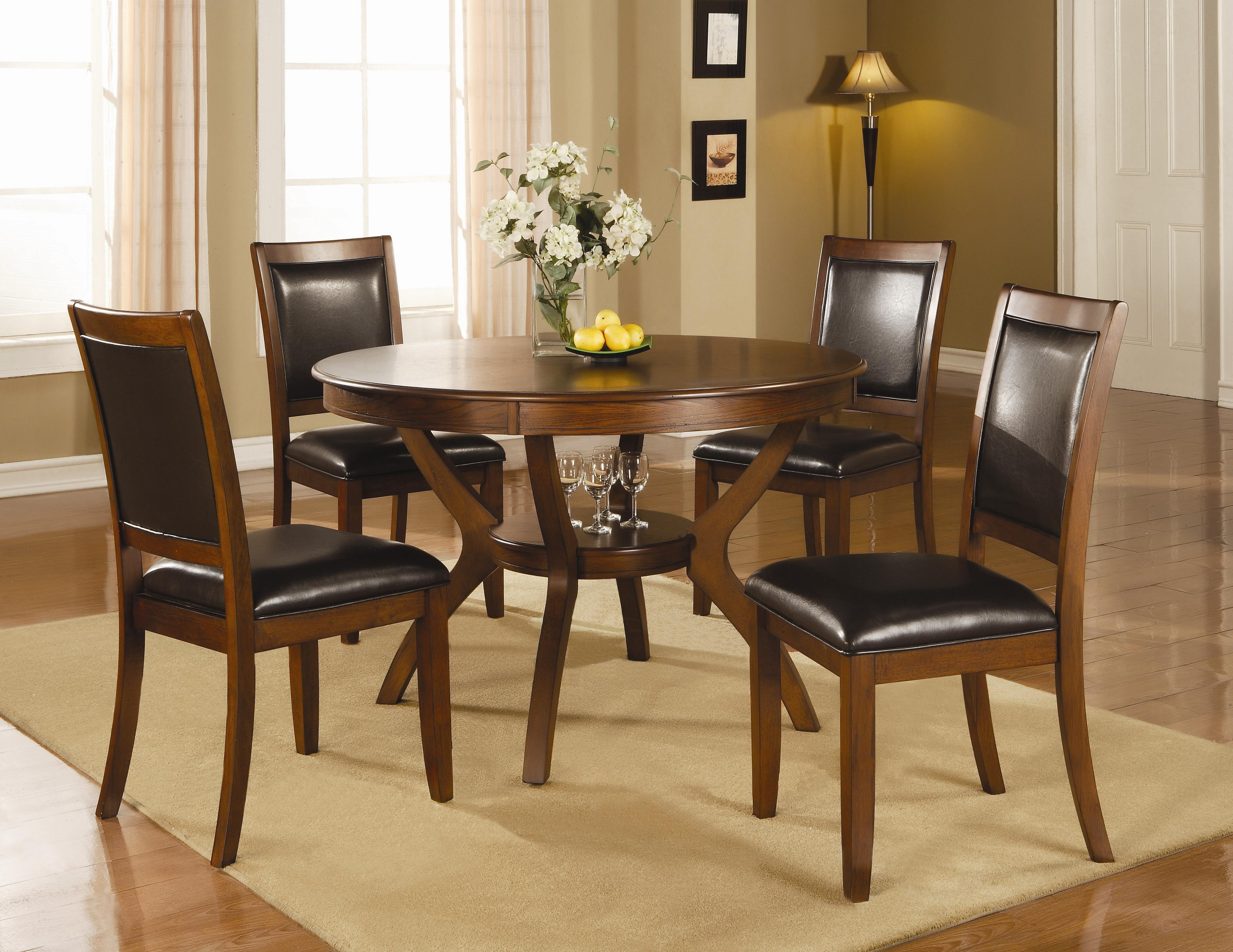 Coaster Nelms 5 Piece Table and Chair Set - Item Number: 102171+4x2