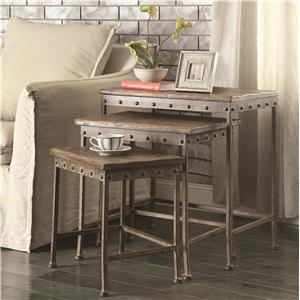 Coaster Nesting Tables Nesting Table