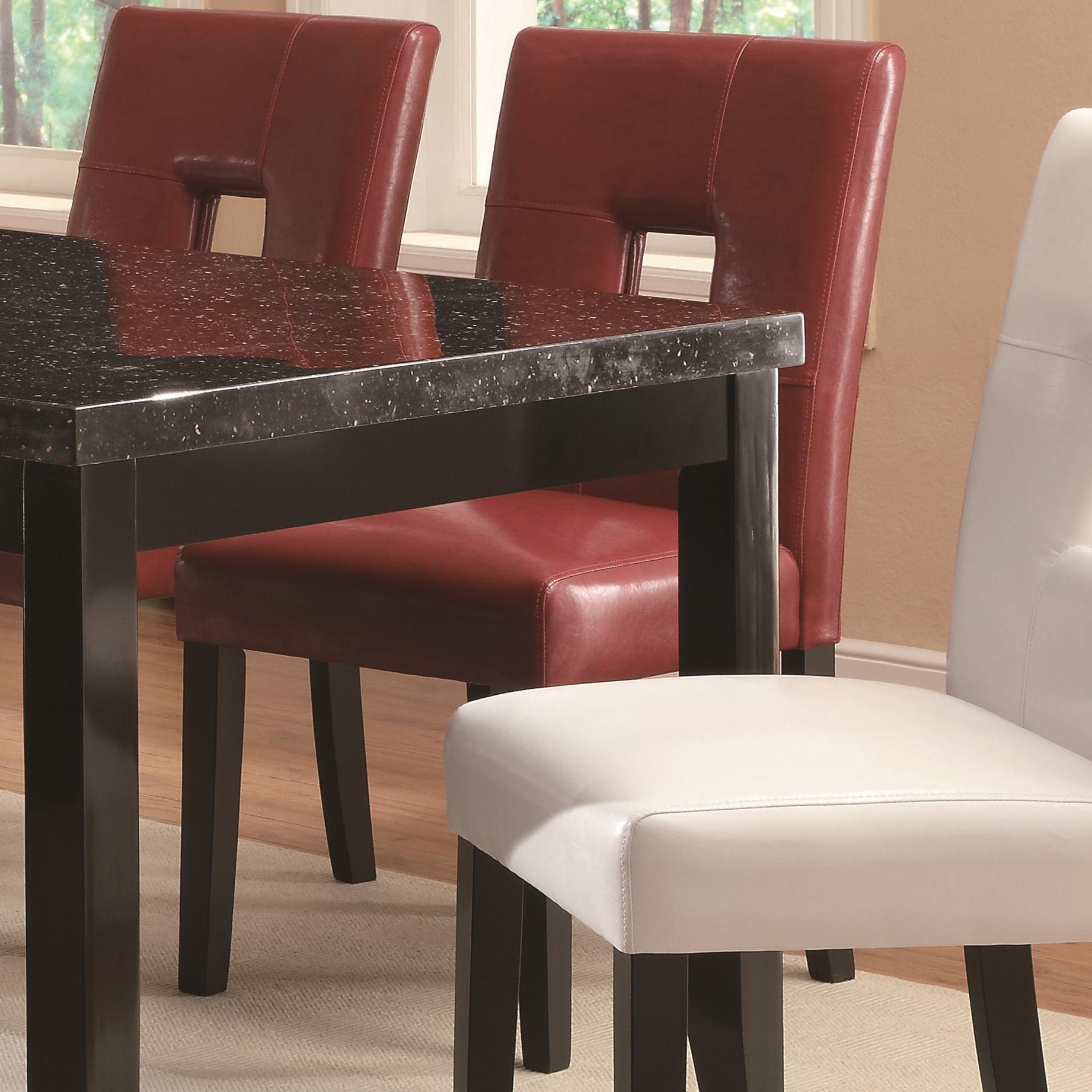Coaster Newbridge Dining Chair - Item Number: 103612RED