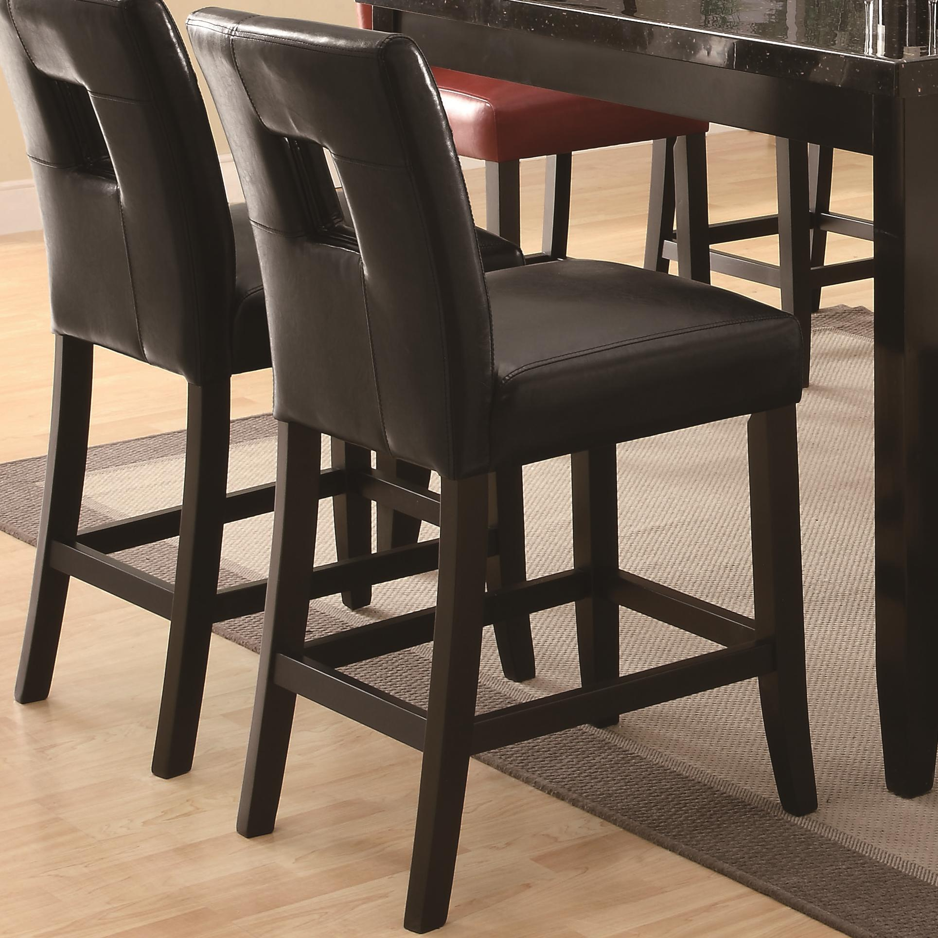 Coaster Newbridge Counter Height Stool - Item Number: 103619BLK