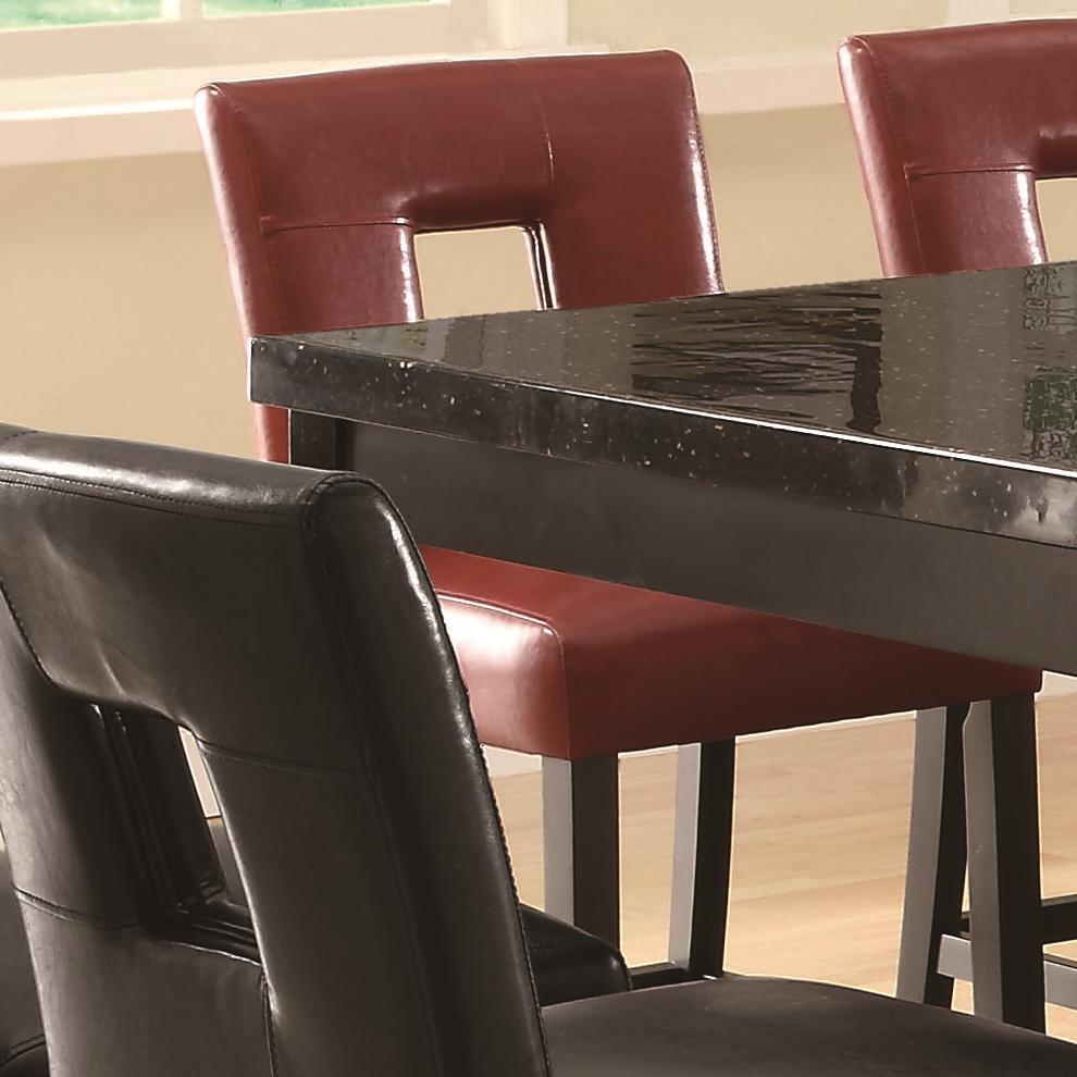 Coaster Newbridge Counter Height Stool - Item Number: 103619RED