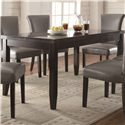 Coaster Newbridge 7 Piece Dining Table & Chair Set - 103621+6x102882 - Table Shown