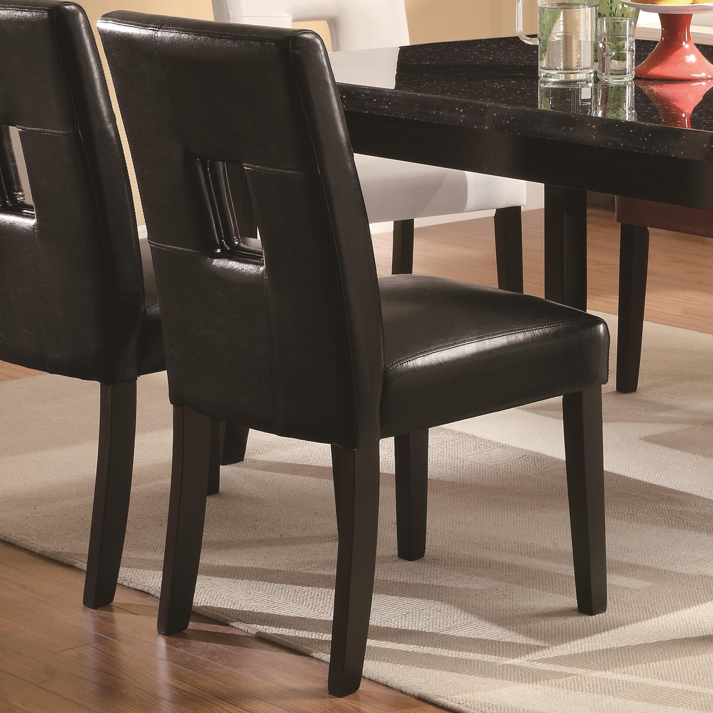 Coaster Newbridge Dining Chair - Item Number: 103621BLK