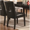 Coaster Newbridge Dining Side Chair w/ Plush Seating - 103621BLK