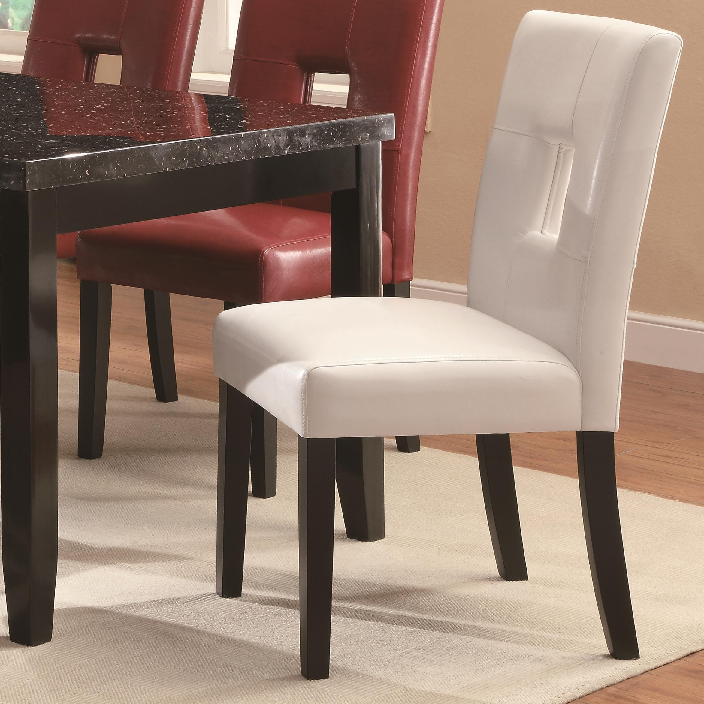 Coaster Newbridge Dining Chair - Item Number: 103621WHT