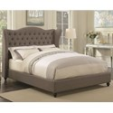 Coaster Newburgh California King Upholstered Bed - Item Number: 300739KW