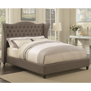 Coaster Newburgh Queen Upholstered Bed