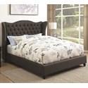 Coaster Newburgh Full Upholstered Bed - Item Number: 300740F