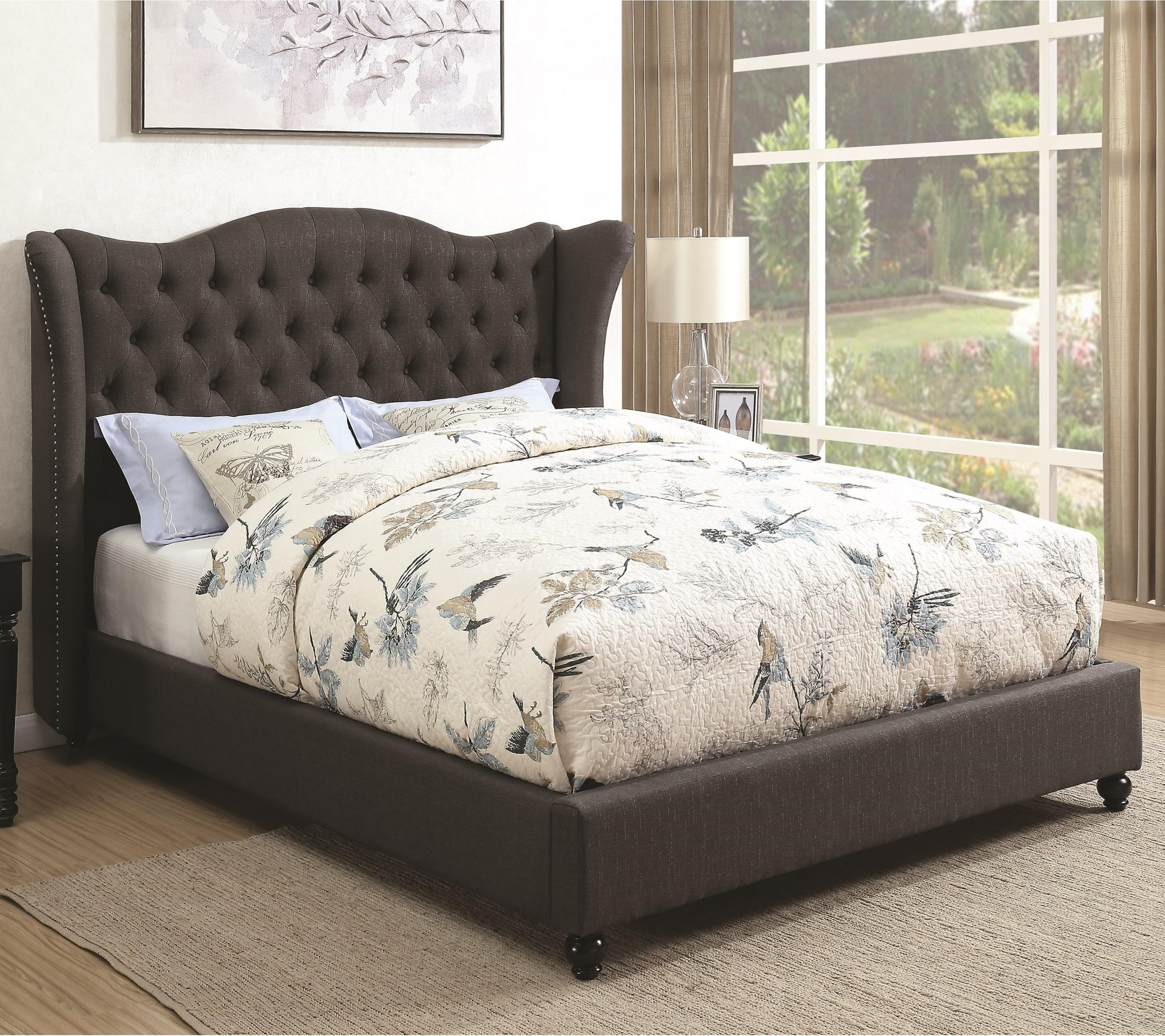 Coaster Newburgh Twin Upholstered Bed - Item Number: 300740T