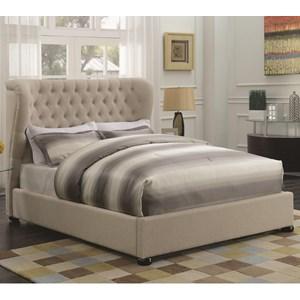 Coaster Newburgh Full Upholstered Bed