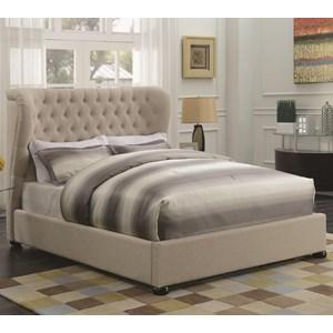 Coaster Newburgh Queen Upholstered Bed