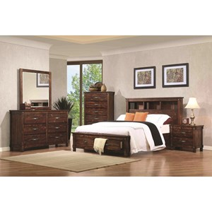 Coaster Noble Queen Bedroom Group