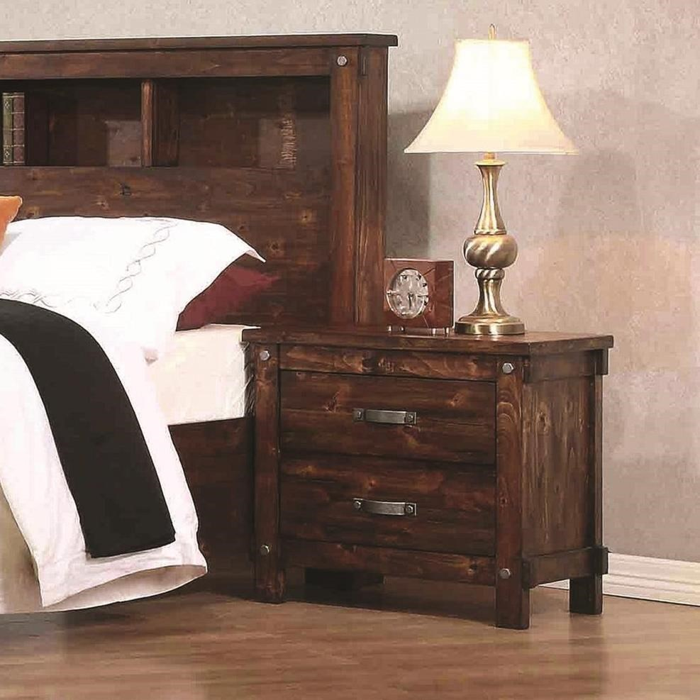 Coaster Noble 2 Drawer Nightstand - Item Number: B219-02