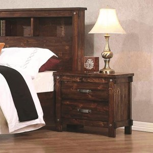 Coaster Noble 2 Drawer Nightstand