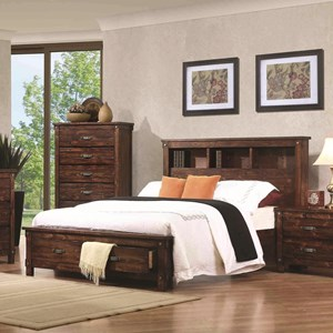 Coaster Noble Queen Bookcase Bed