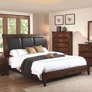 Coaster Noble Queen Panel Bed