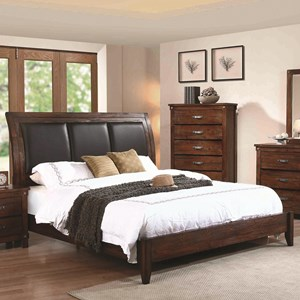 Coaster Noble California King Panel Bed