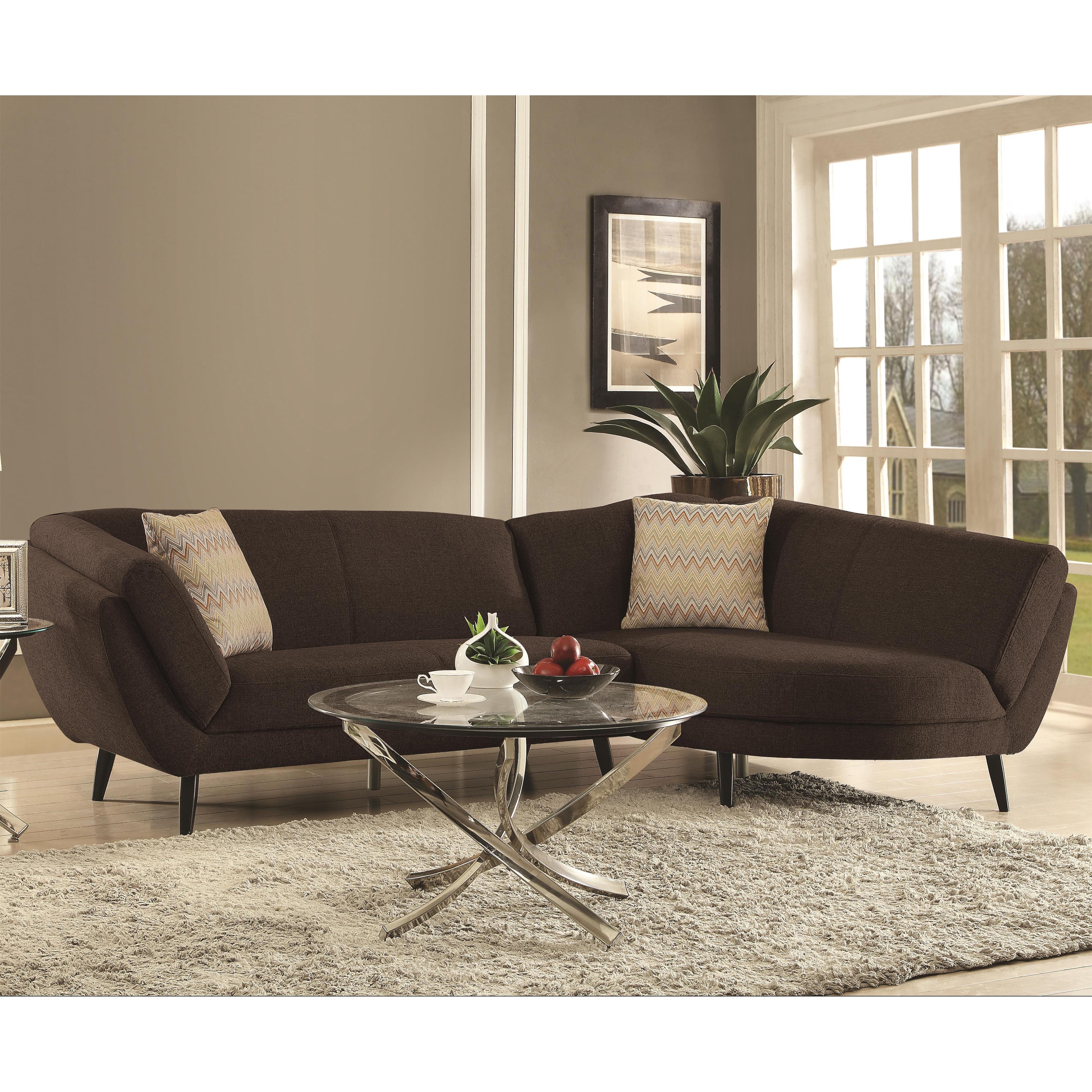 Coaster Norwood Sectional Sofa - Item Number: 500463