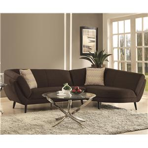 Coaster Norwood Sectional Sofa