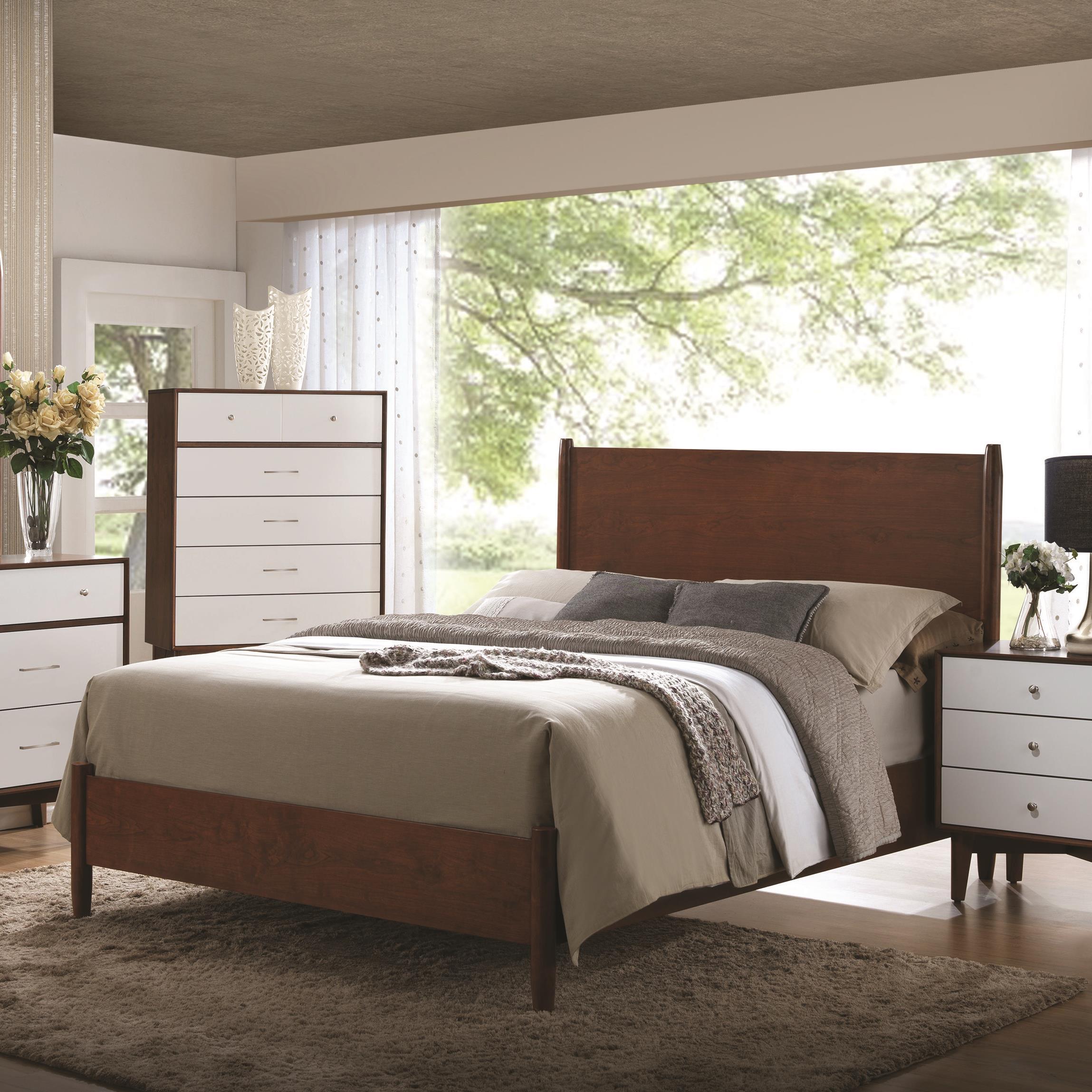 Coaster Oakwood King Bed - Item Number: 204301KE