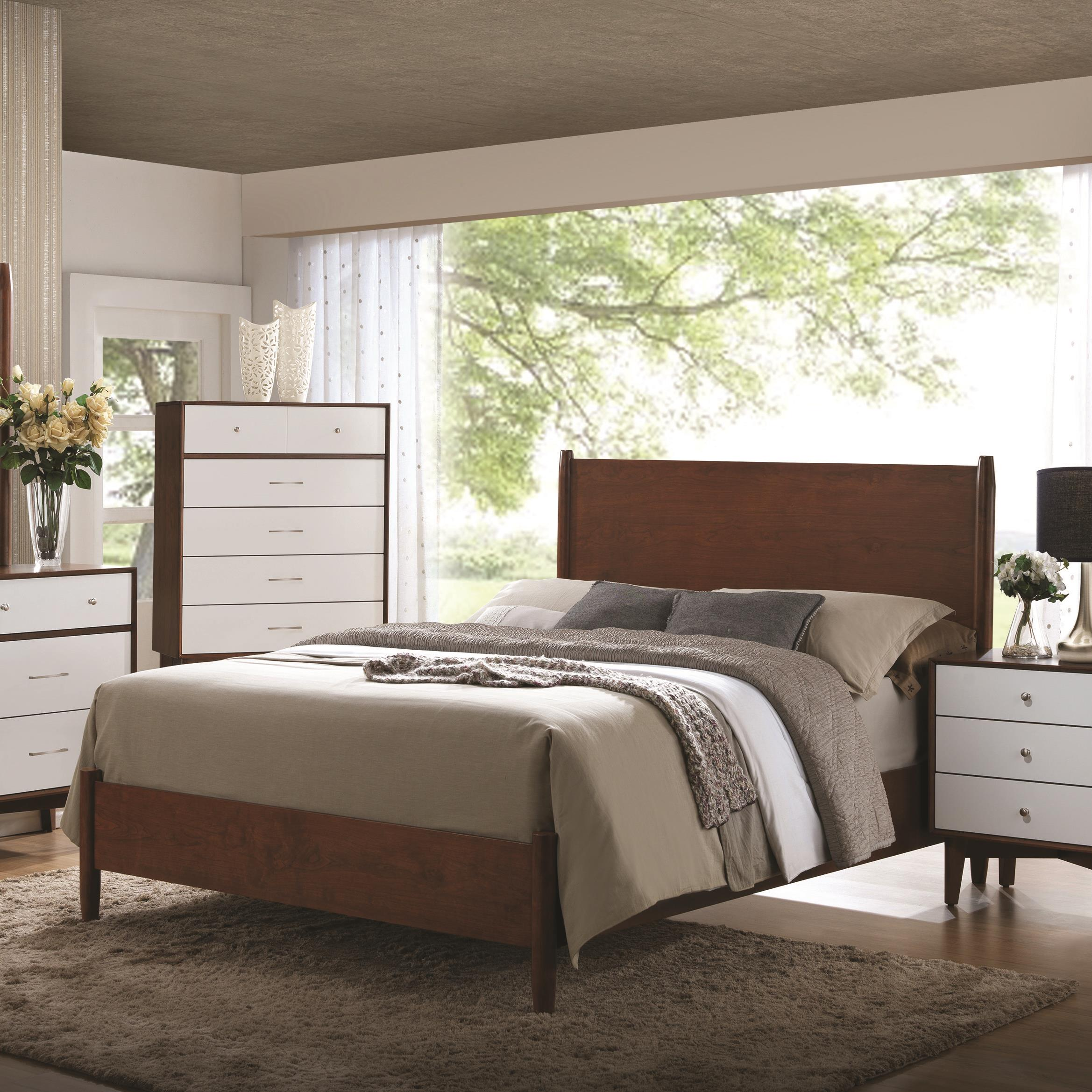 Coaster Oakwood California King Bed - Item Number: 204301KW
